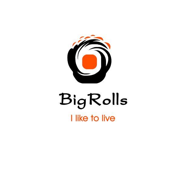 логотип для BigRolls - дизайнер art-valeri