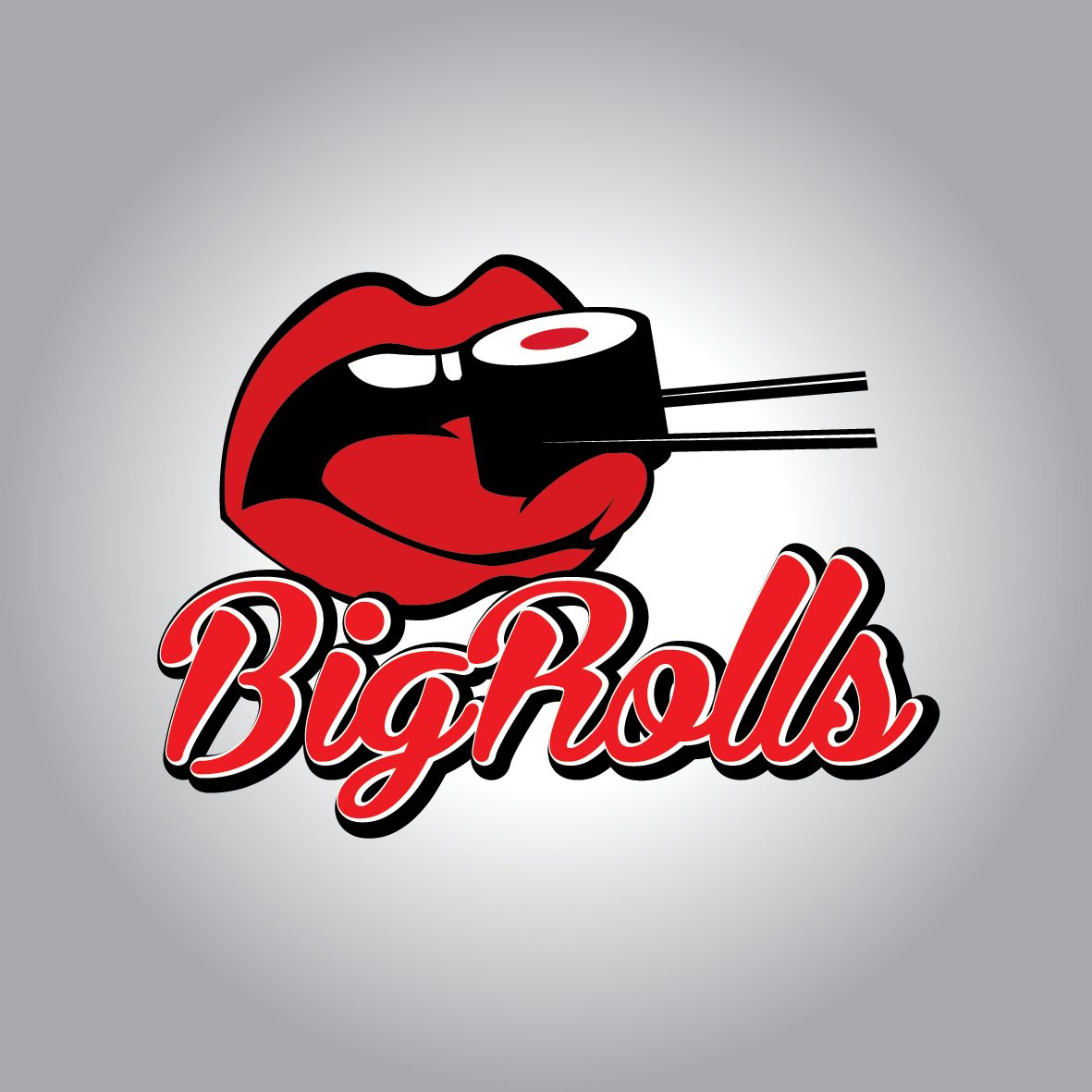 логотип для BigRolls - дизайнер kit-design