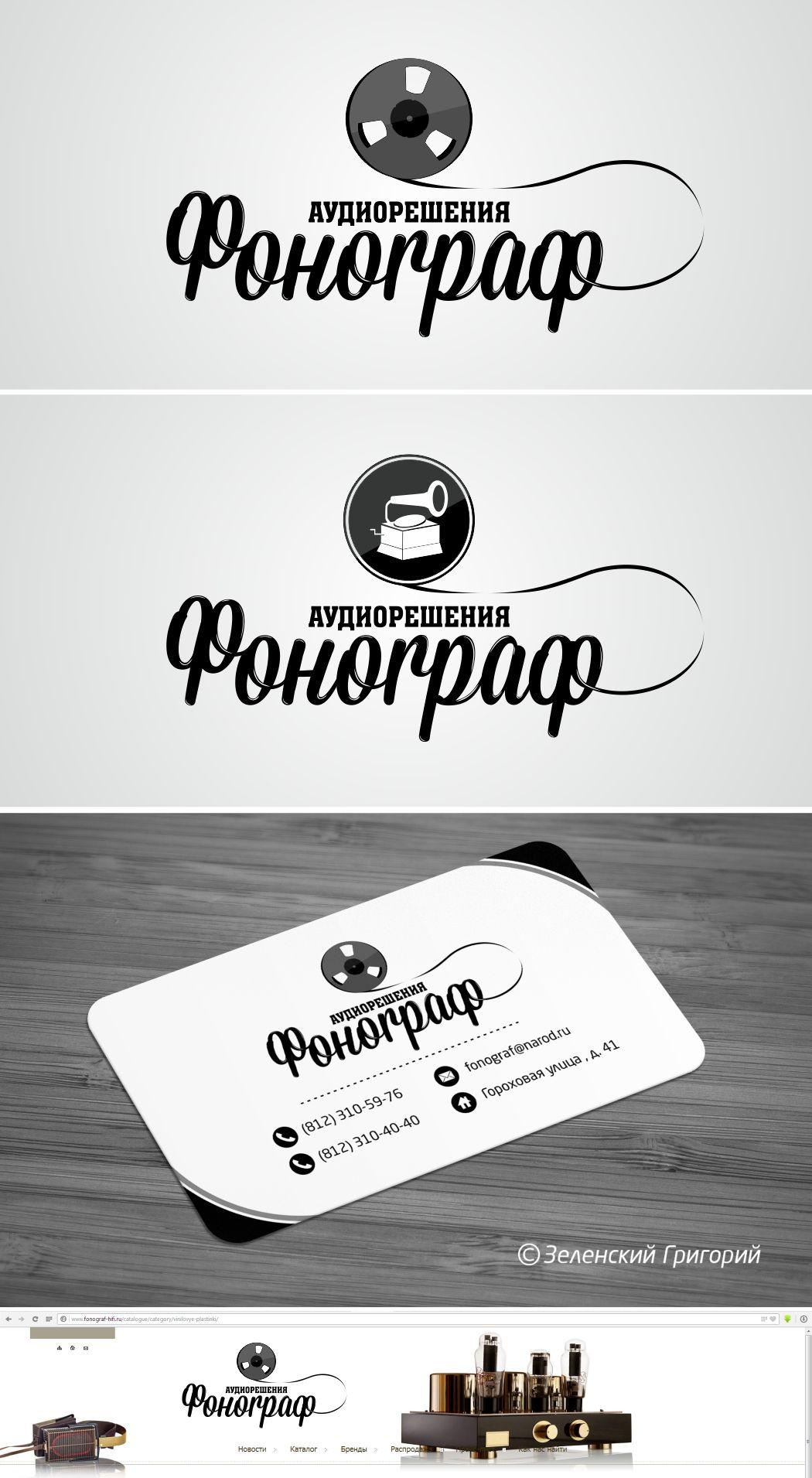 Лого и ФС для магазина аудиотехники - дизайнер splinter7