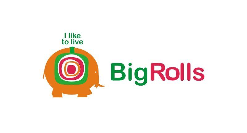 логотип для BigRolls - дизайнер pashashama