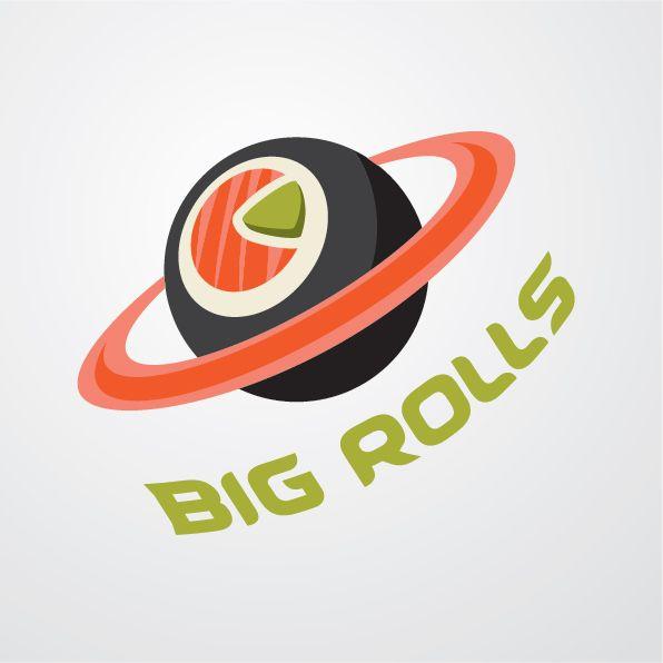 логотип для BigRolls - дизайнер byX