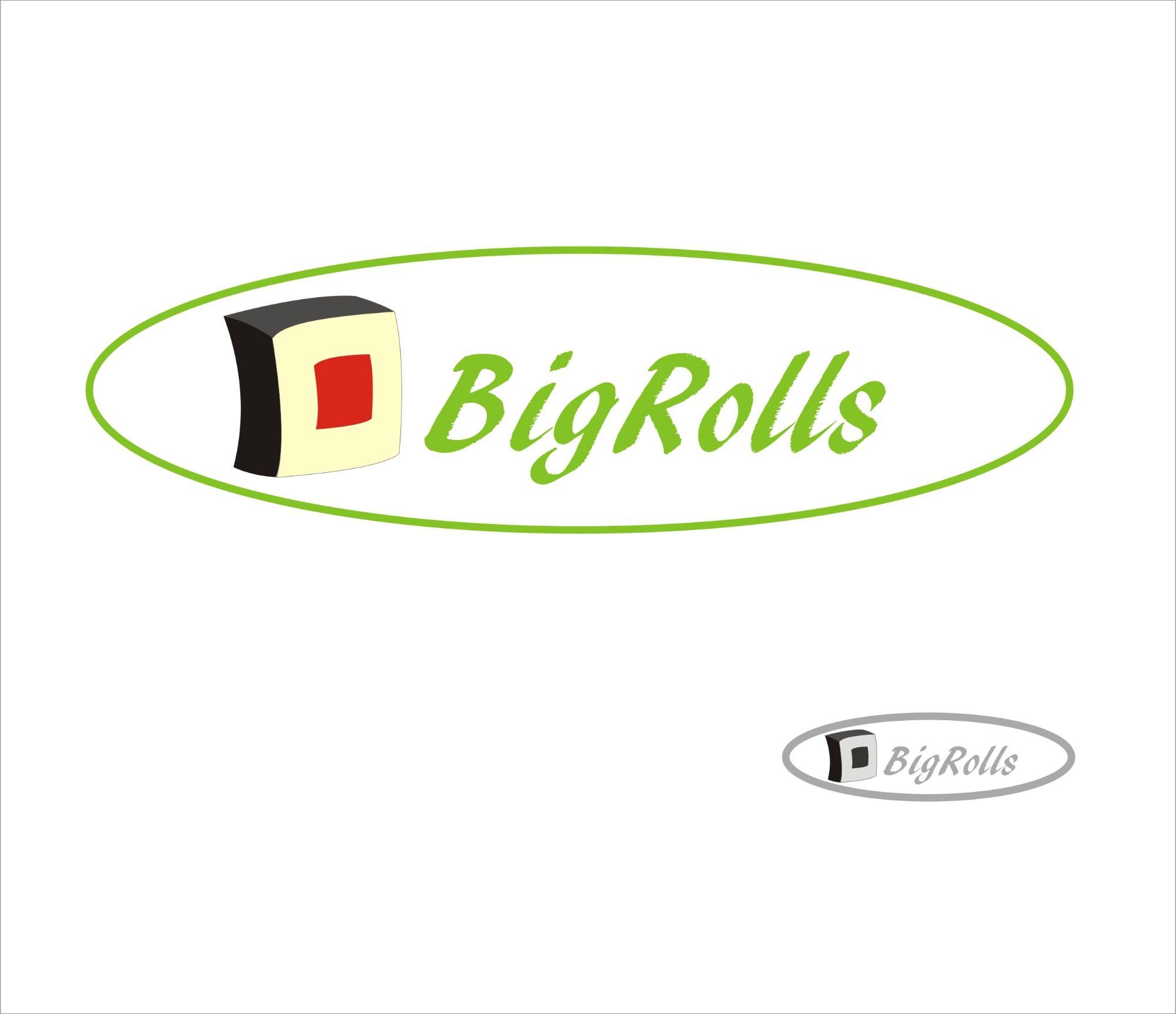 логотип для BigRolls - дизайнер bymiftakhova