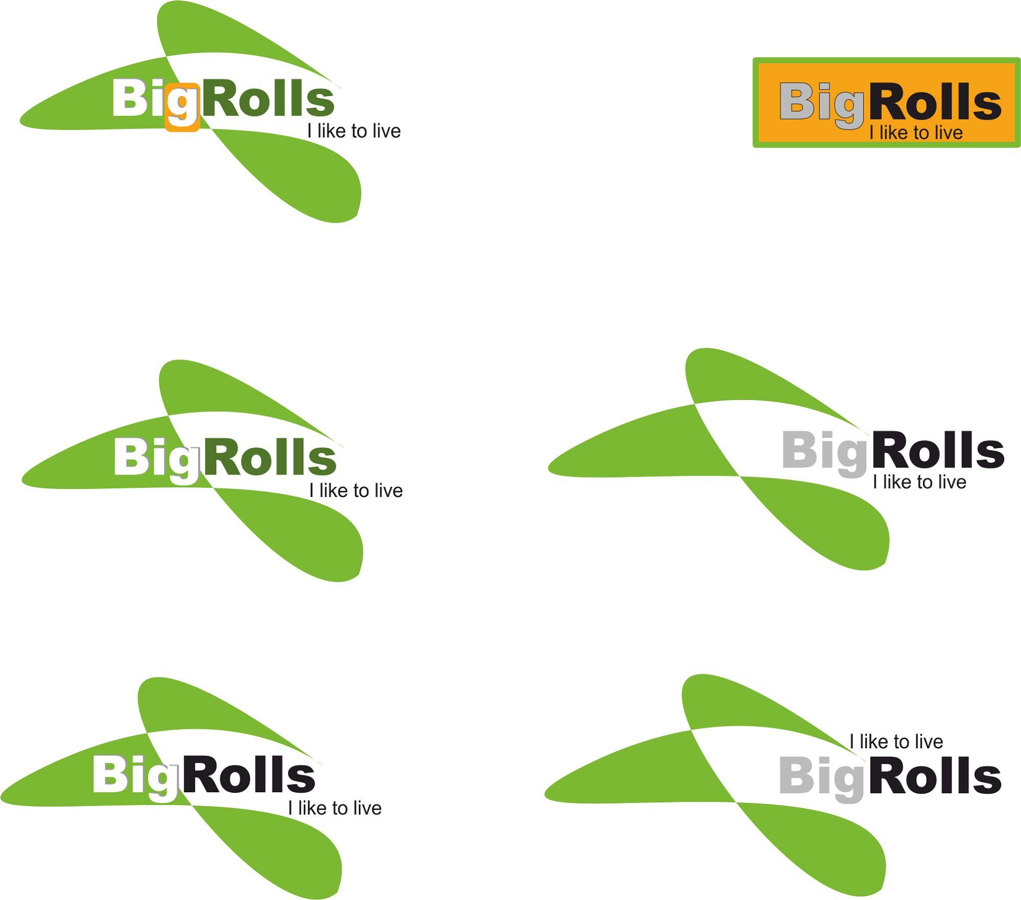 логотип для BigRolls - дизайнер Liissa
