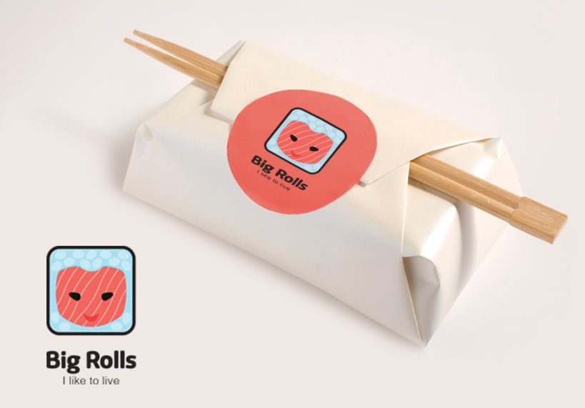 логотип для BigRolls - дизайнер chobanabu
