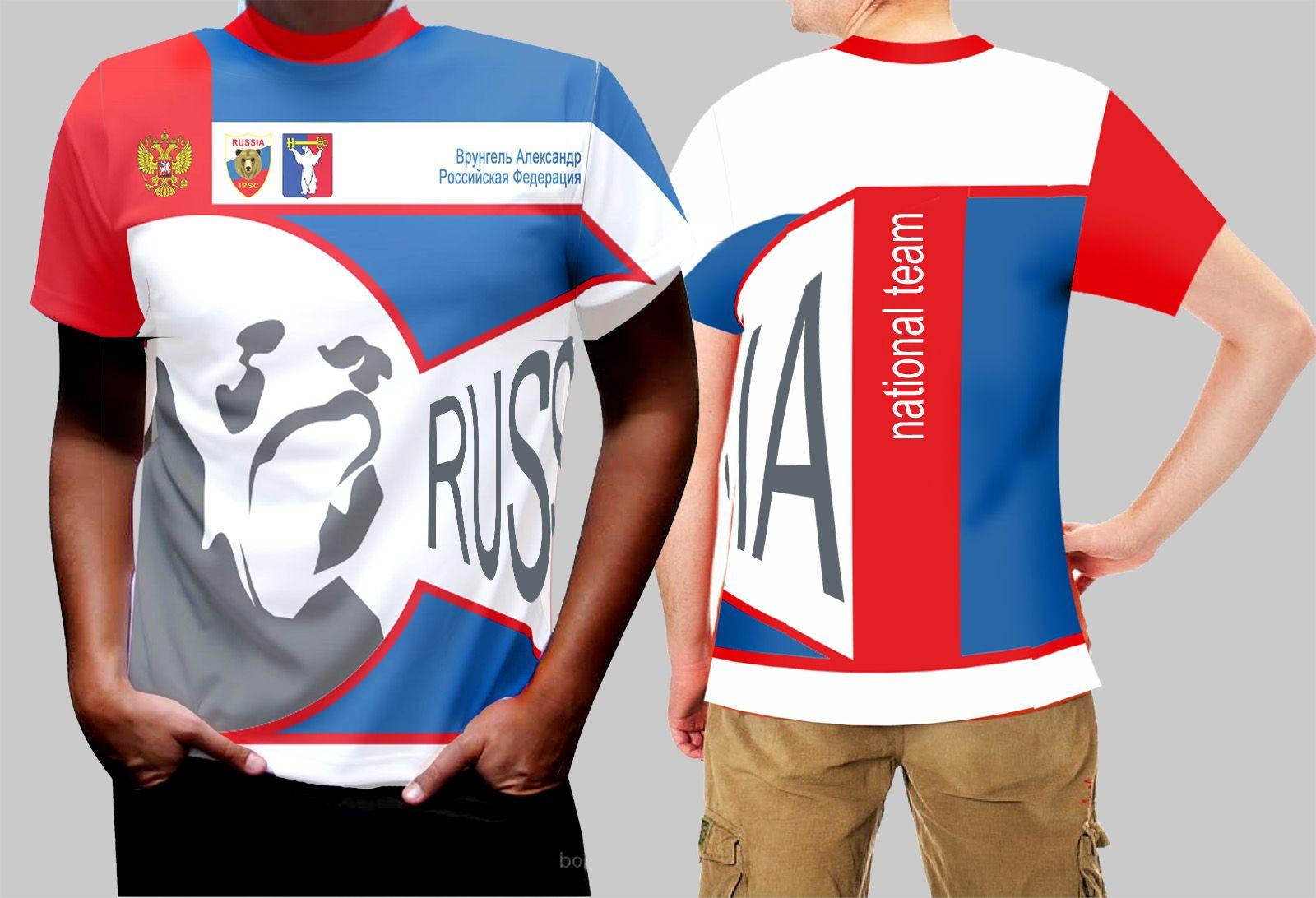 Макет спортивной одежды для региональной команды - дизайнер stason2008
