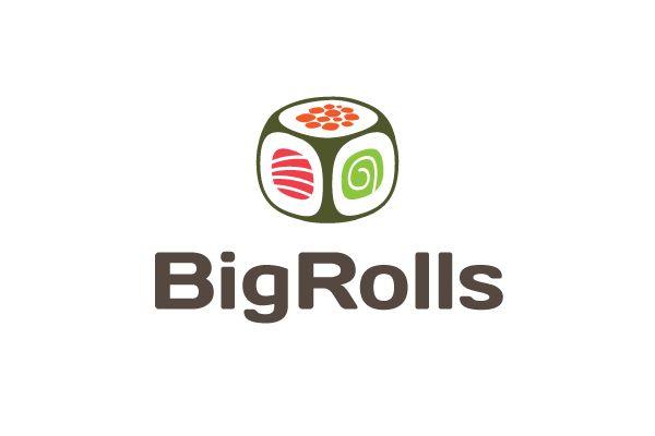 логотип для BigRolls - дизайнер drobinkin