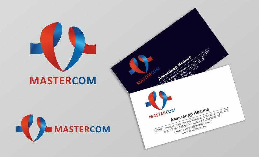 MasterCom (логотип, фирменный стиль) - дизайнер Lara2009