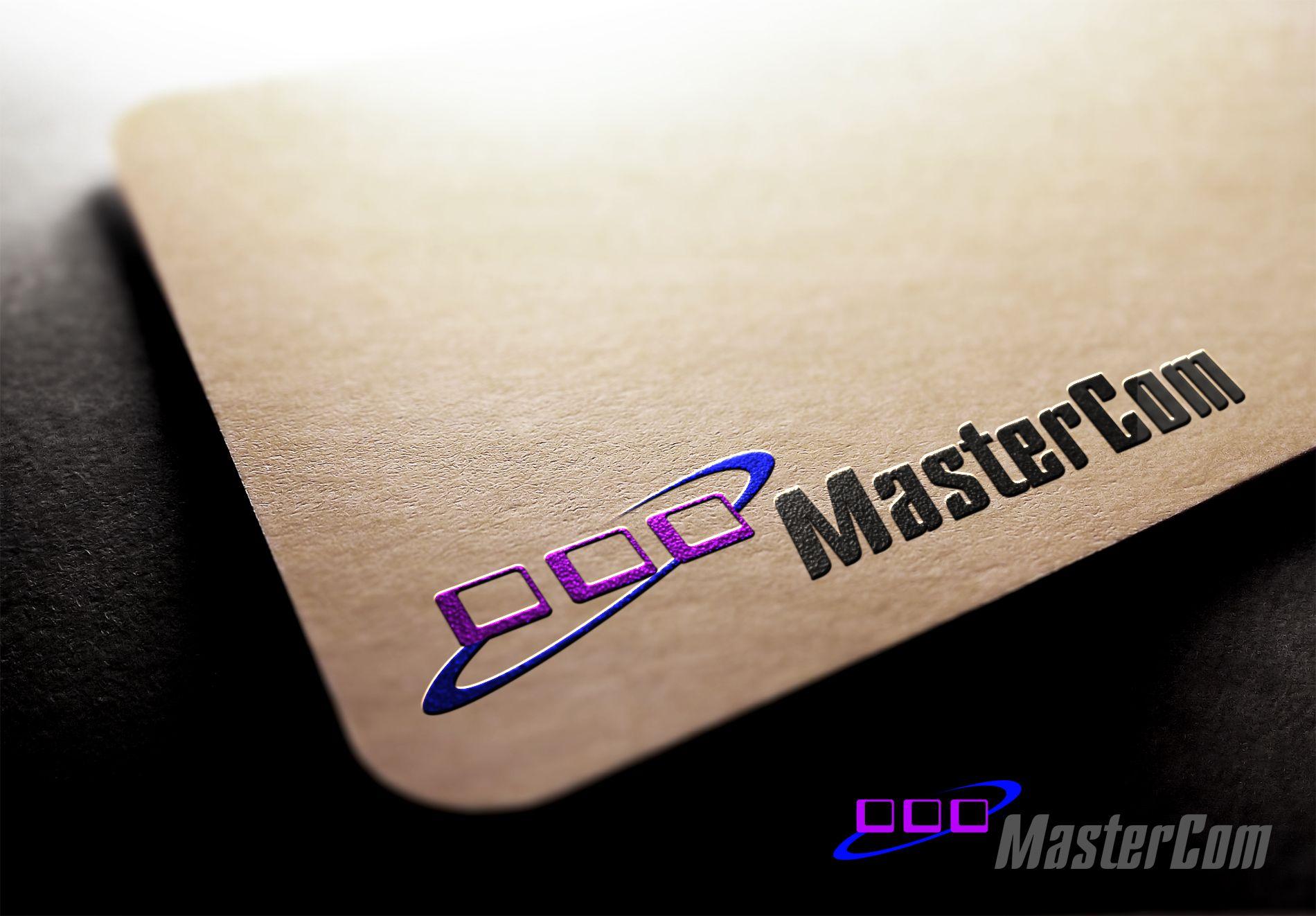 MasterCom (логотип, фирменный стиль) - дизайнер La_persona