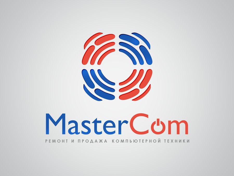 MasterCom (логотип, фирменный стиль) - дизайнер Une_fille