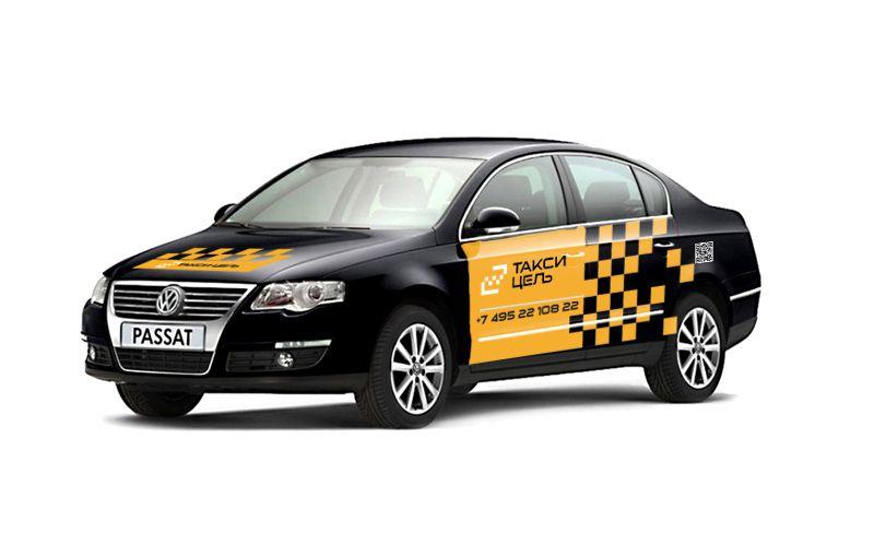 Рекламное оформление автомобиля такси - дизайнер 115115