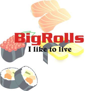 логотип для BigRolls - дизайнер ViTaL1988