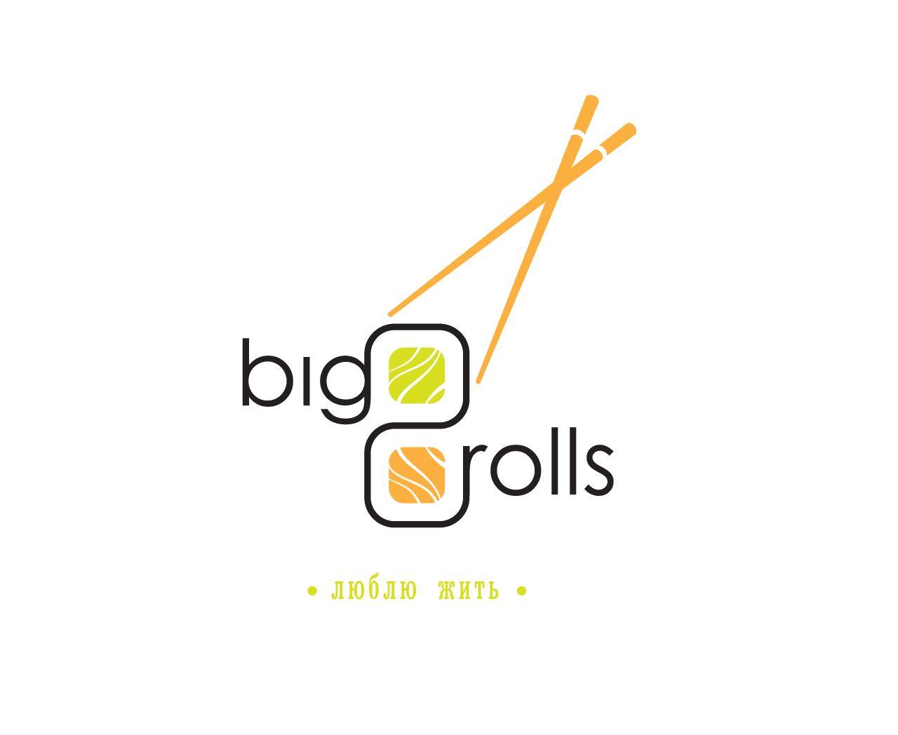 логотип для BigRolls - дизайнер Evzenka
