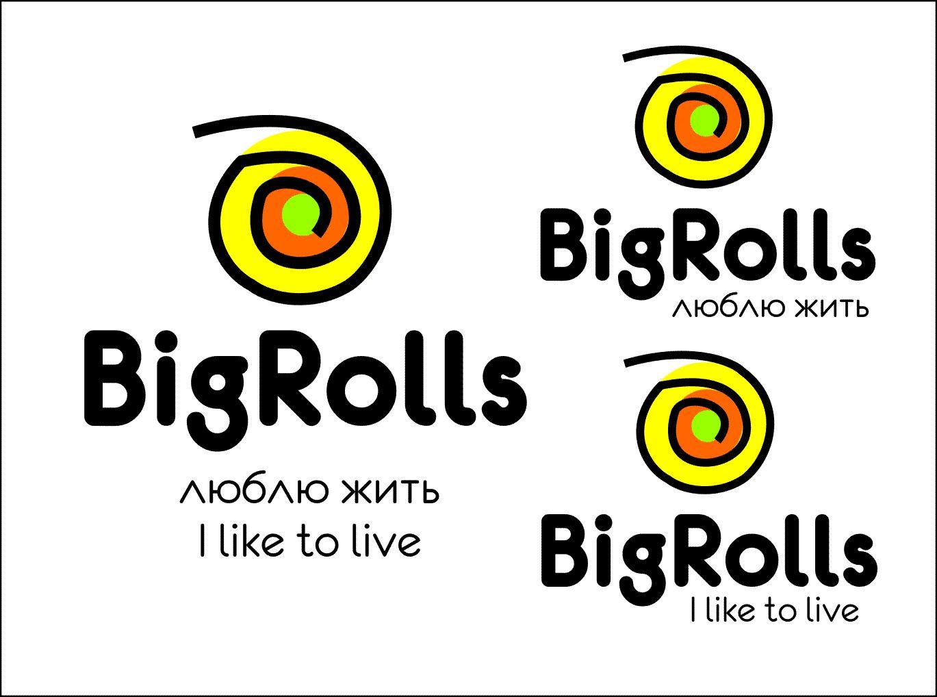логотип для BigRolls - дизайнер TelishchakTaras