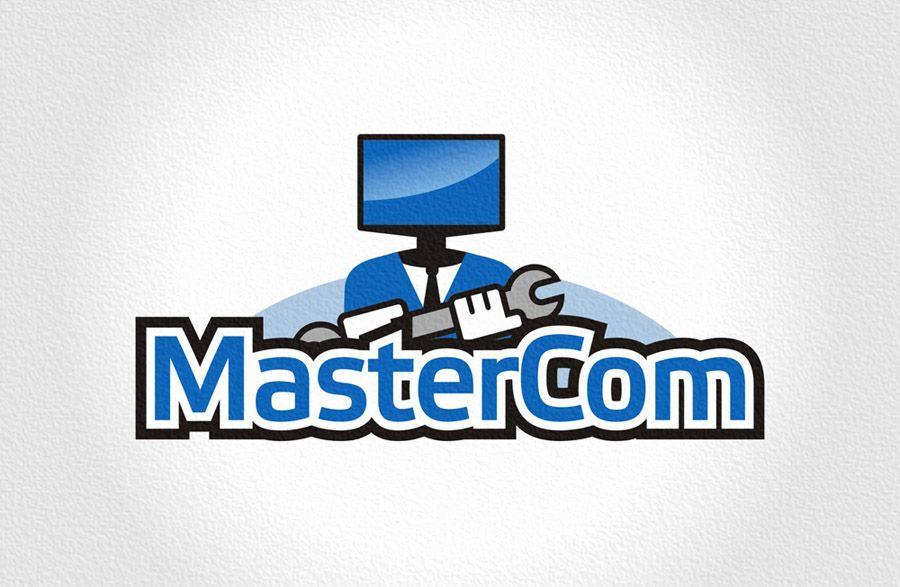 MasterCom (логотип, фирменный стиль) - дизайнер Zheravin