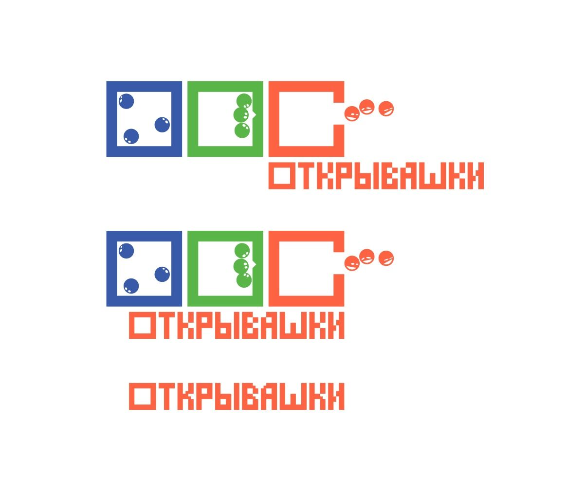 Логотип и цветовая гамма развлекательного проекта - дизайнер Yatush