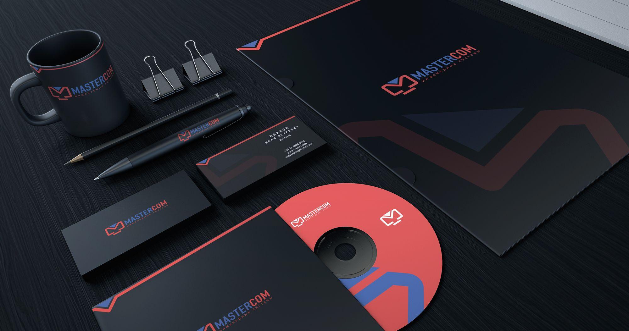 MasterCom (логотип, фирменный стиль) - дизайнер Enrik