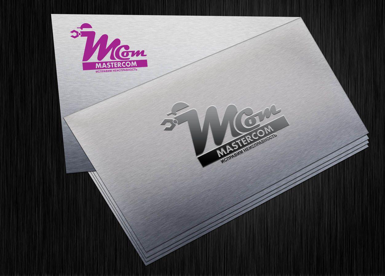 MasterCom (логотип, фирменный стиль) - дизайнер LiXoOnshade
