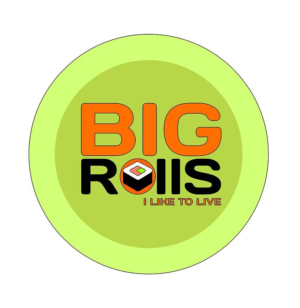 логотип для BigRolls - дизайнер LetThemEatCake