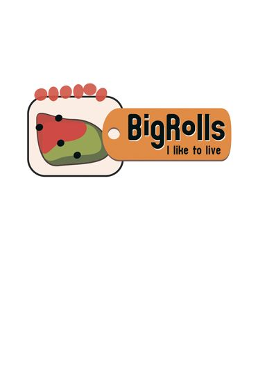 логотип для BigRolls - дизайнер gennb