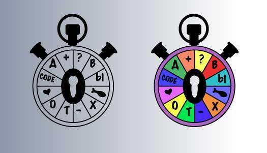 Логотип и цветовая гамма развлекательного проекта - дизайнер Auruslan