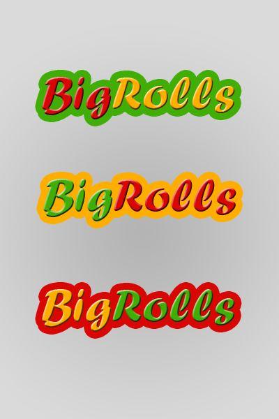 логотип для BigRolls - дизайнер Musaev