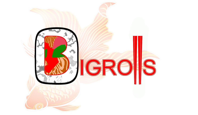логотип для BigRolls - дизайнер ZazArt