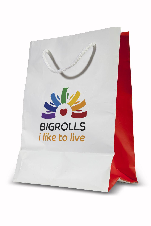 логотип для BigRolls - дизайнер Shatiks