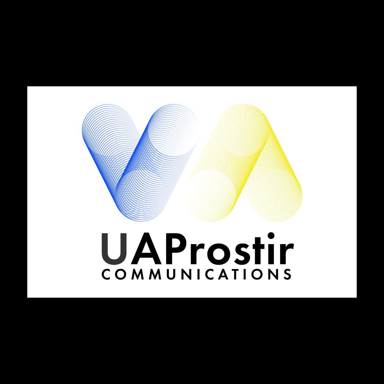 Логотип для UAProstir - дизайнер Volumes