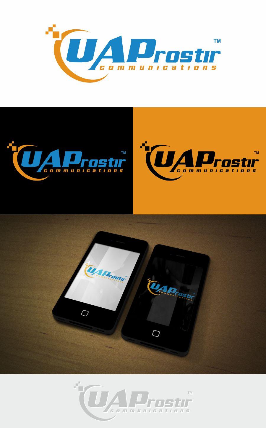 Логотип для UAProstir - дизайнер ironbrands