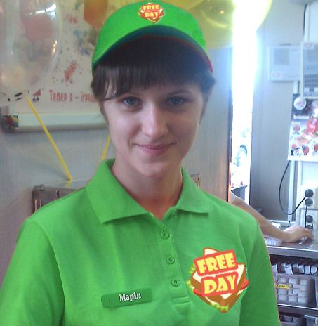 Кафе быстрого обслуживания (fast food) - дизайнер Natalya_Klokova