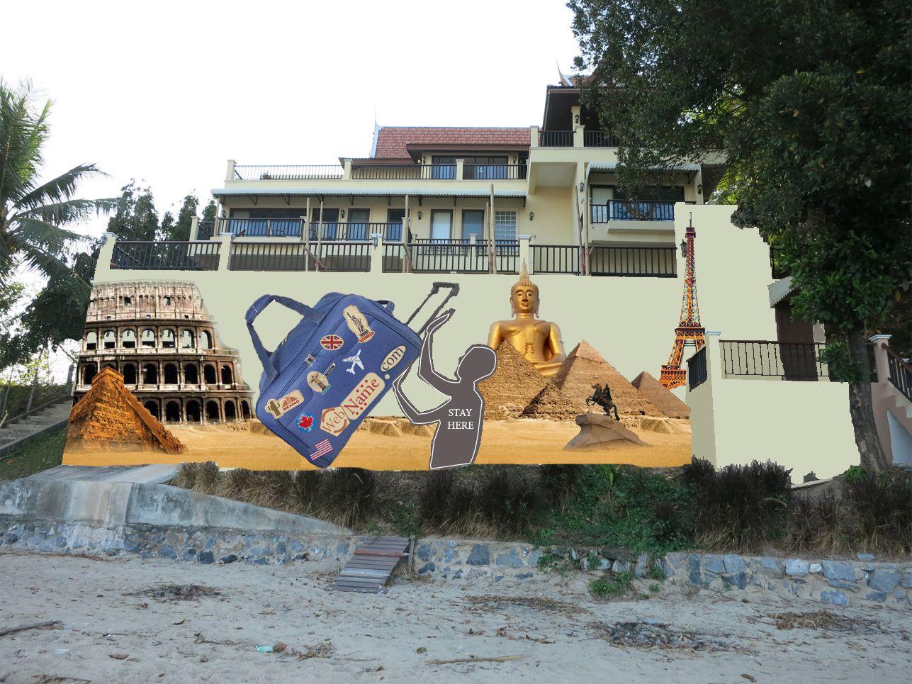 Эскиз для росписи стены - дизайнер Auruslan