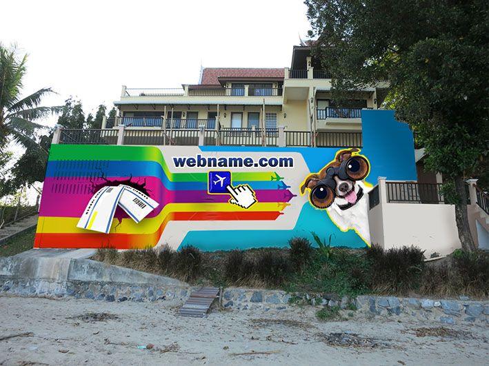 Эскиз для росписи стены - дизайнер Alena_dis