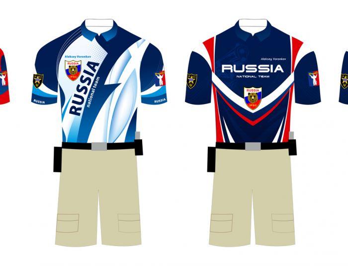 Макет спортивной одежды для региональной команды - дизайнер artogen