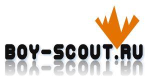 Логотип для сайта интернет-магазина BOY SCOUT - дизайнер alena26