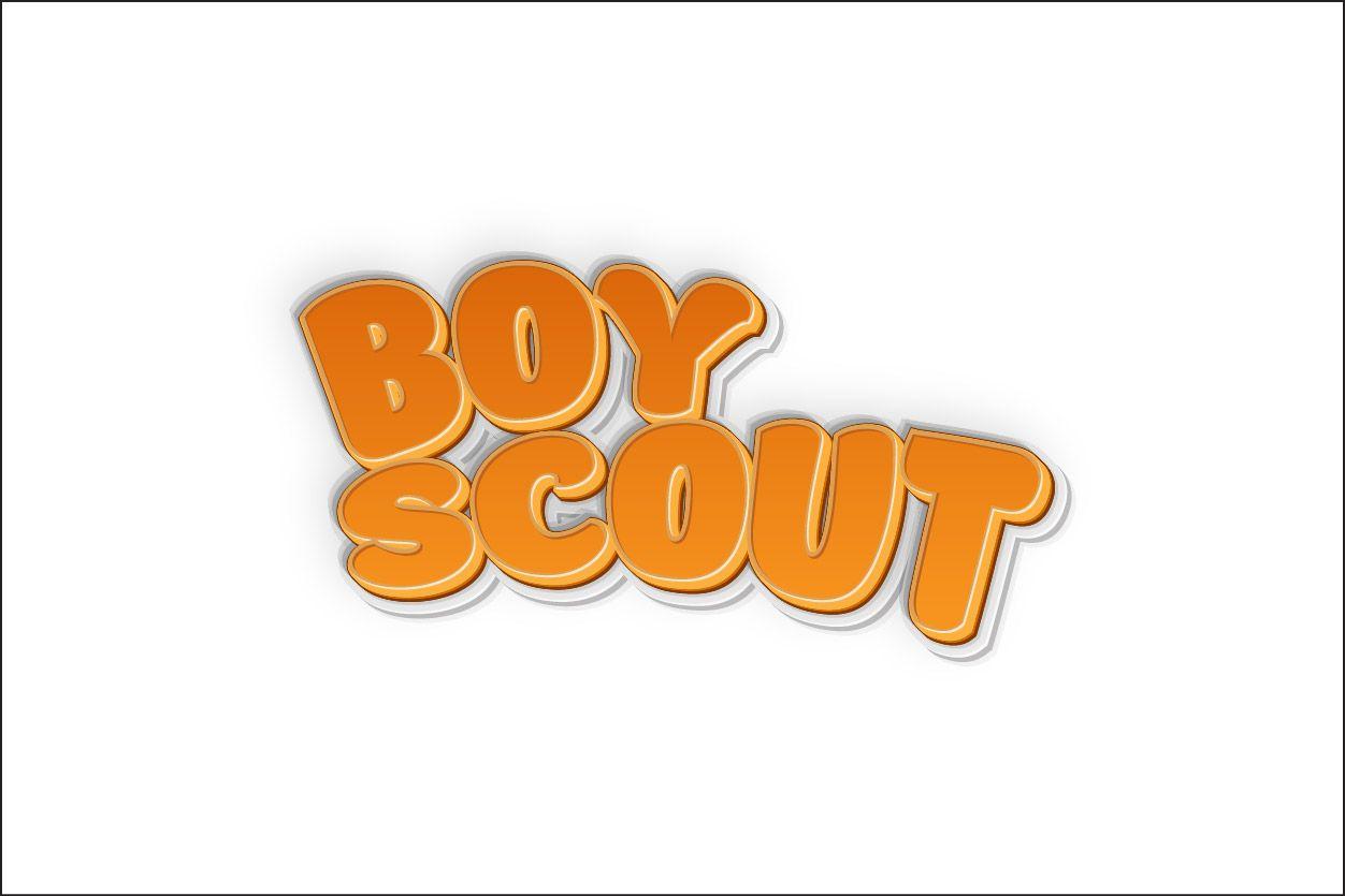 Логотип для сайта интернет-магазина BOY SCOUT - дизайнер Sky4u