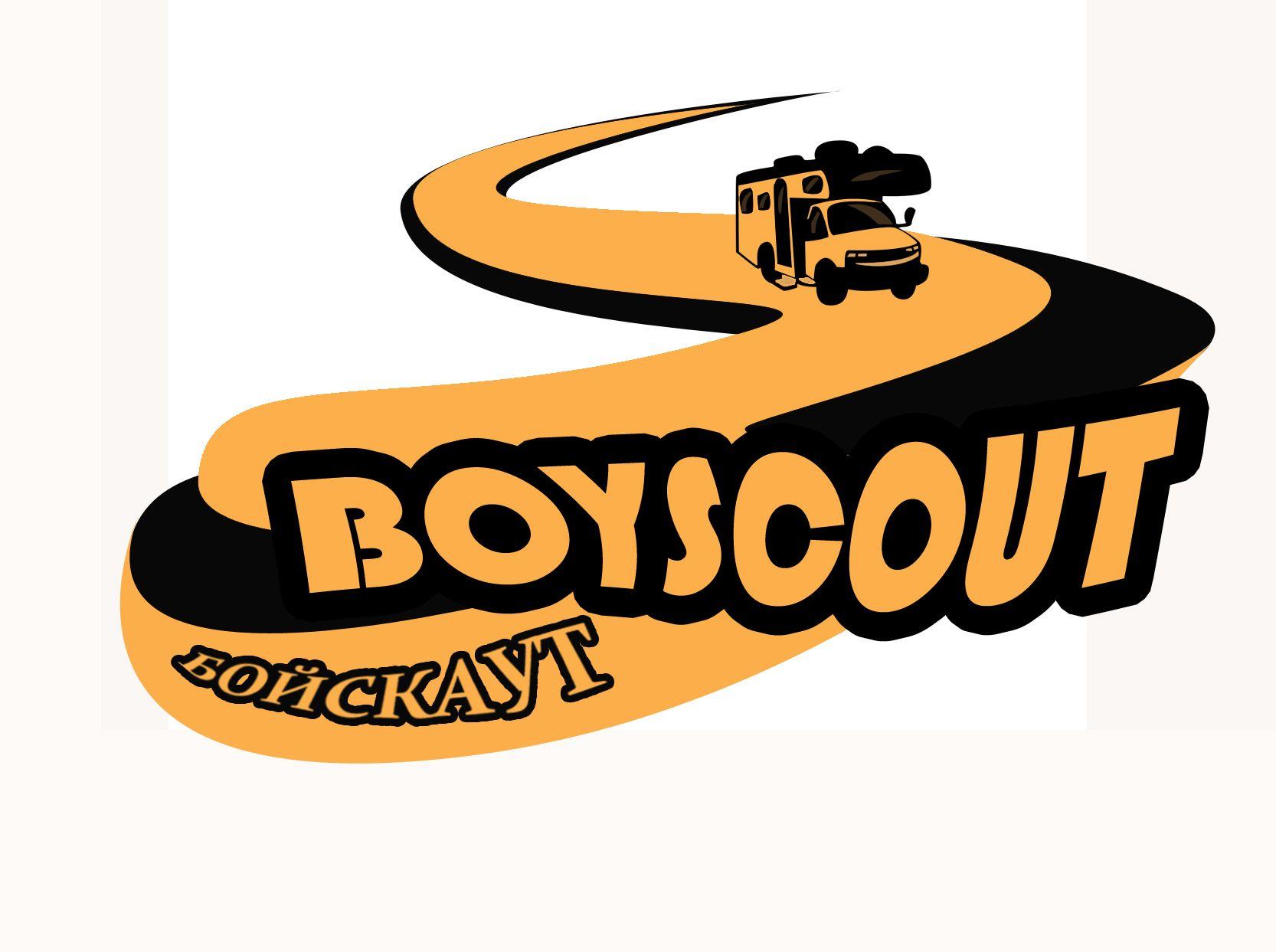 Логотип для сайта интернет-магазина BOY SCOUT - дизайнер Pani_Lita