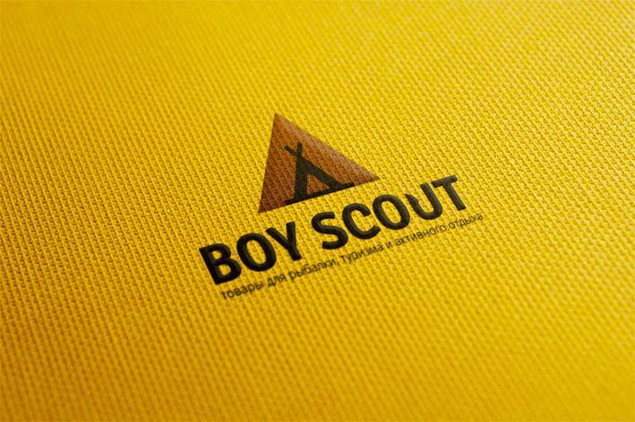 Логотип для сайта интернет-магазина BOY SCOUT - дизайнер zeart