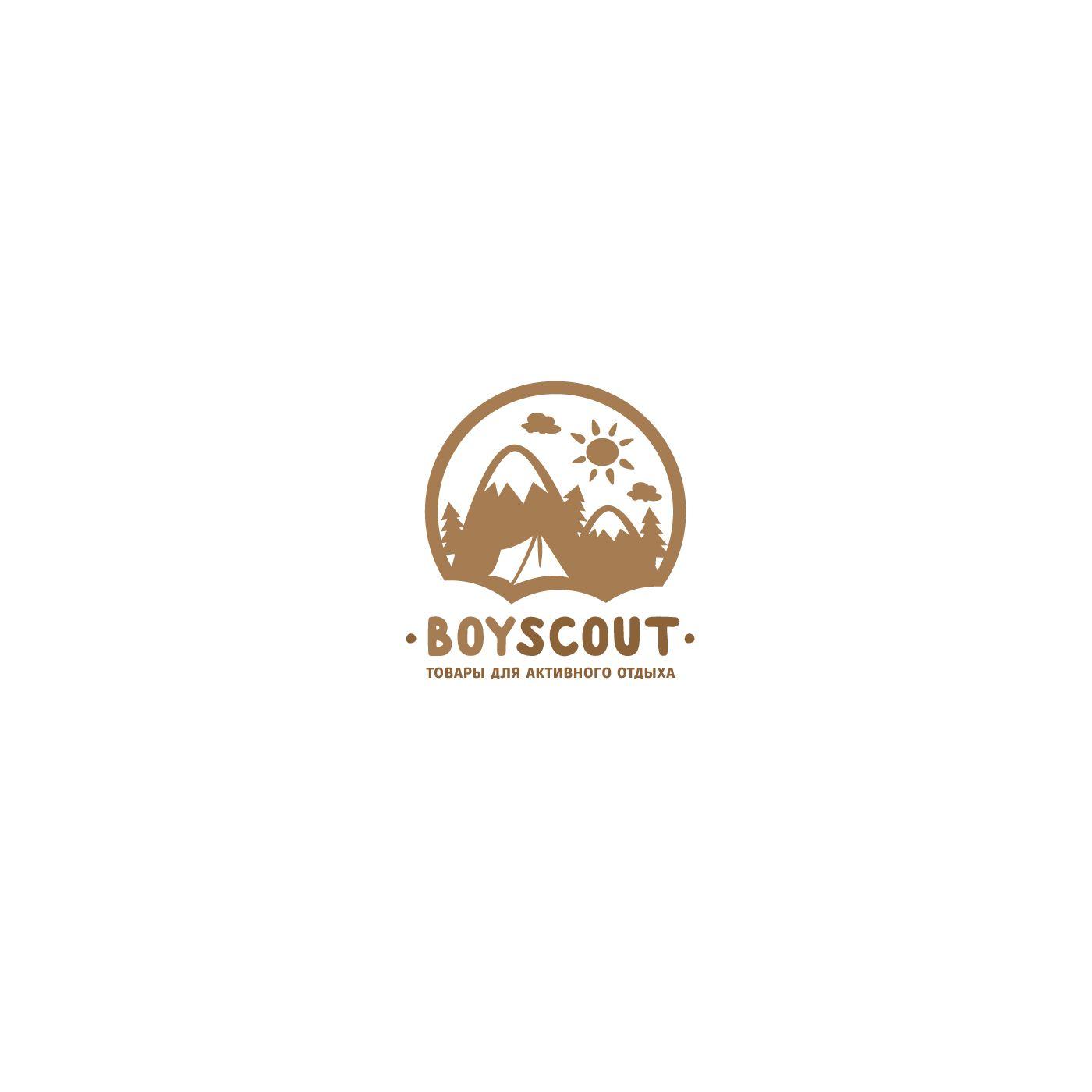 Логотип для сайта интернет-магазина BOY SCOUT - дизайнер benks