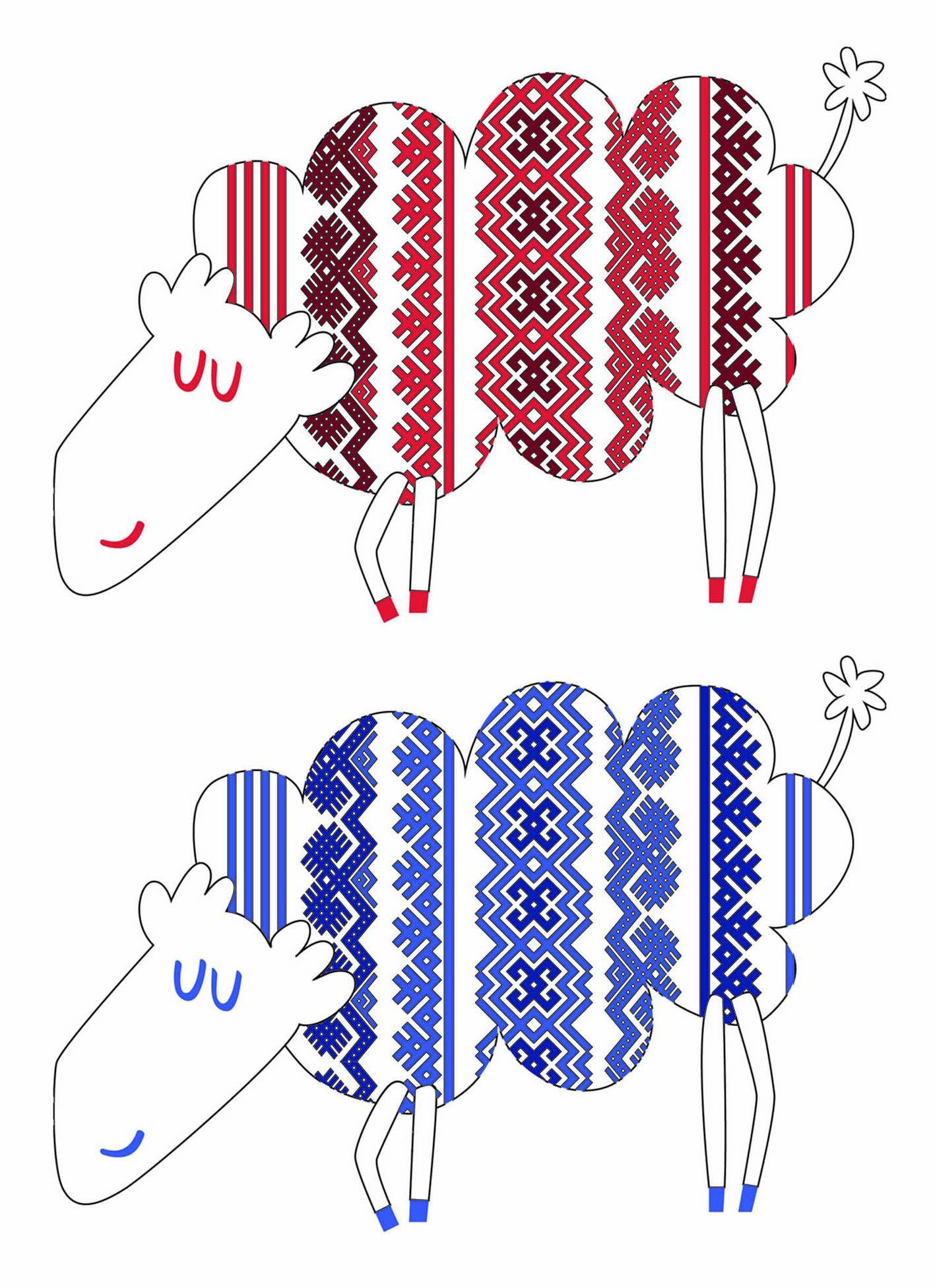 Иллюстрация персонажа - дизайнер ksenia-kulinar