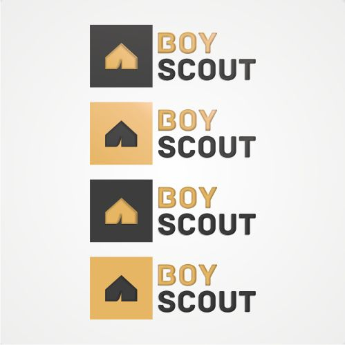 Логотип для сайта интернет-магазина BOY SCOUT - дизайнер logig