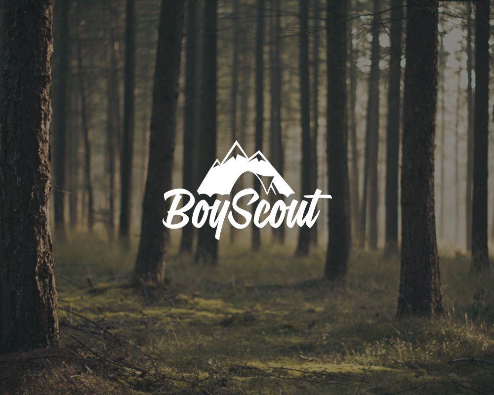 Логотип для сайта интернет-магазина BOY SCOUT - дизайнер BlackBread