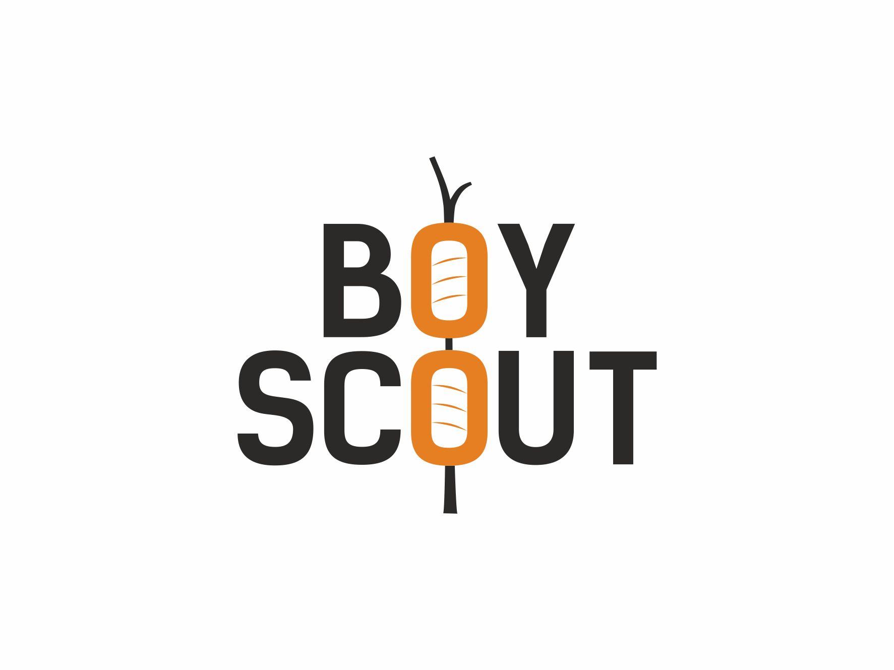 Логотип для сайта интернет-магазина BOY SCOUT - дизайнер VictorBazine