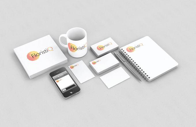 Логотип и фирм. стиль цветочного салона - дизайнер Belotserkovich