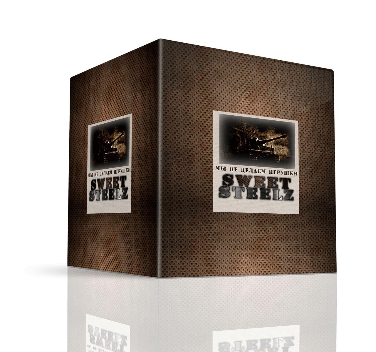 Лого и фирм. стиль для шоколадных военных моделей - дизайнер Advokat72