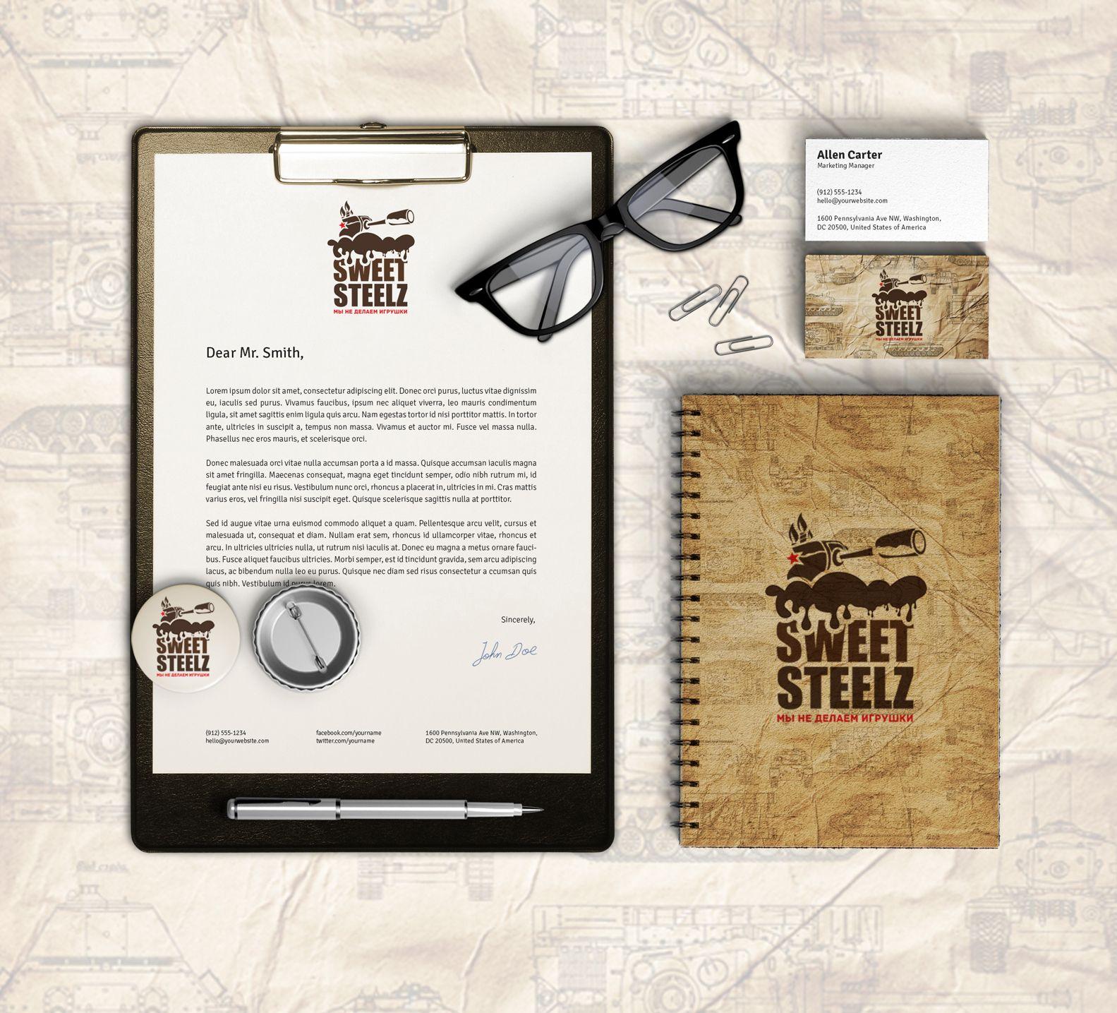 Лого и фирм. стиль для шоколадных военных моделей - дизайнер spirina