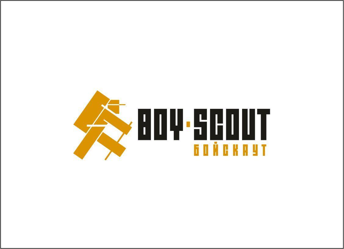 Логотип для сайта интернет-магазина BOY SCOUT - дизайнер GAMAIUN