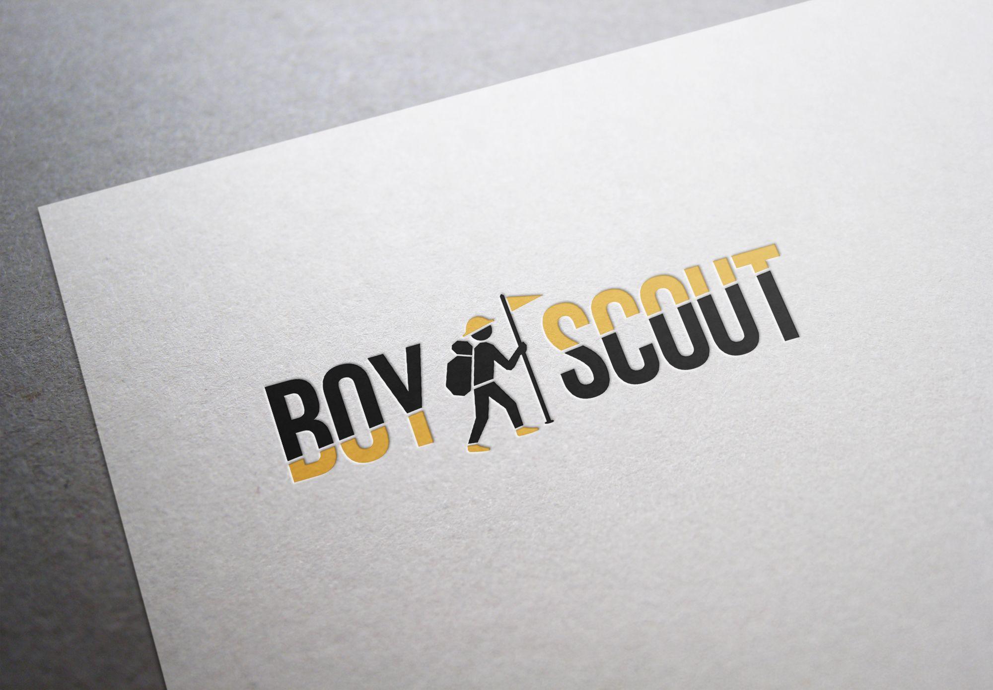 Логотип для сайта интернет-магазина BOY SCOUT - дизайнер aleonov