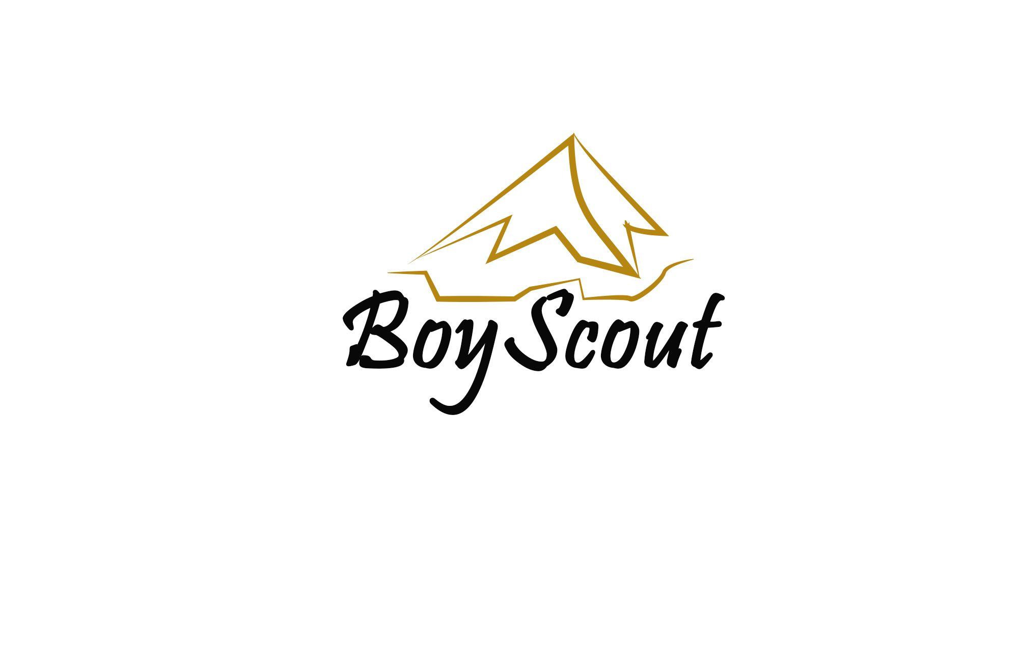 Логотип для сайта интернет-магазина BOY SCOUT - дизайнер VeronikaVlad