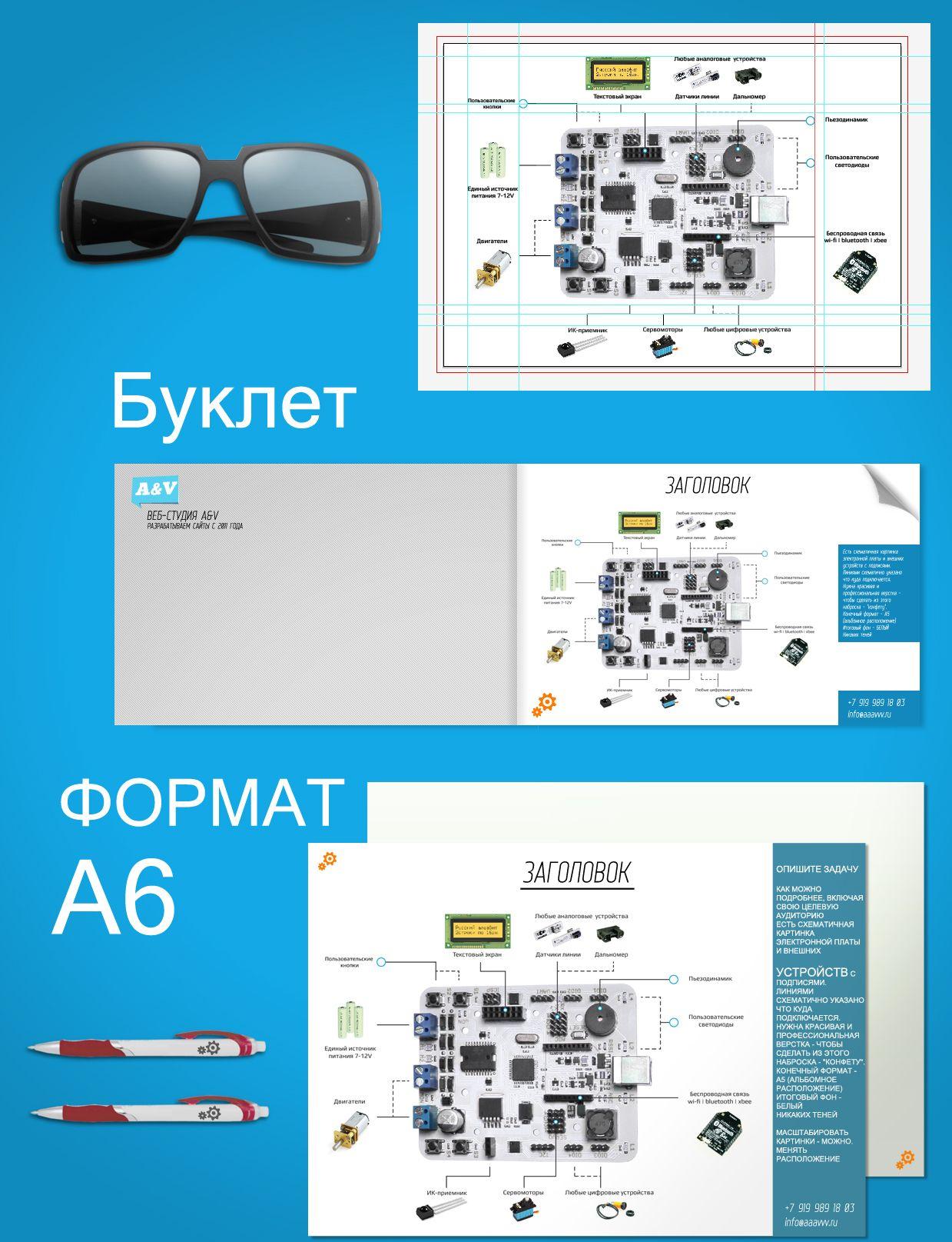 Дизайн-верстка изображения для листовки - дизайнер Kozorezov