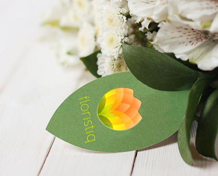 Логотип и фирм. стиль цветочного салона - дизайнер chobanabu